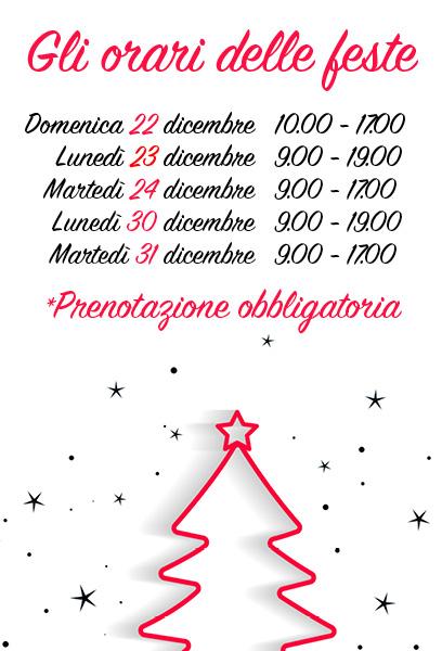 Orari feste Natale